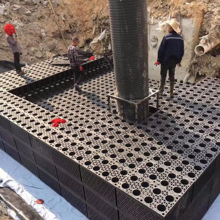HDPE Modular Tank Drainage Cell Stormwater Management