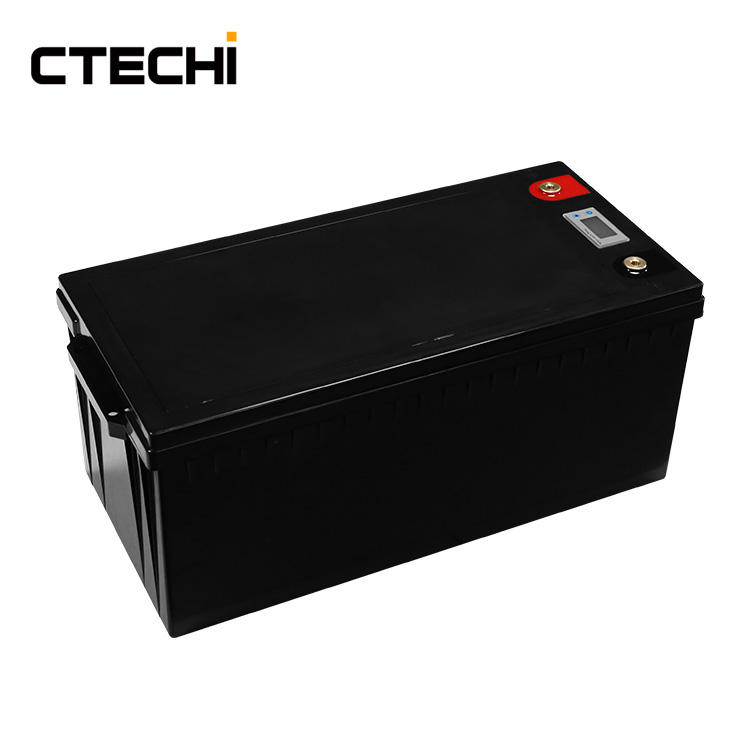 CTECHi 12v 200ah deep cycle storage energy battery with maintenance free