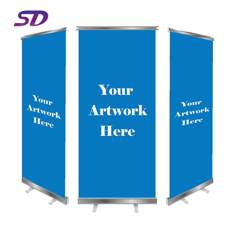 Factory Directly Wholesale Cheap Factory Custom Retractable Advertising Rolling Banner