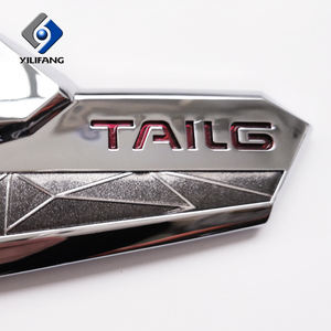 Professional custom metal logo badges for cars badge for auto blank foreign car logo metal badge