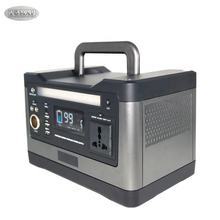CE FC Rohs Approve Solar Generator 500W 50Ah Lithium Battery Portable Emergency Mobile Power Supply For Outdoors