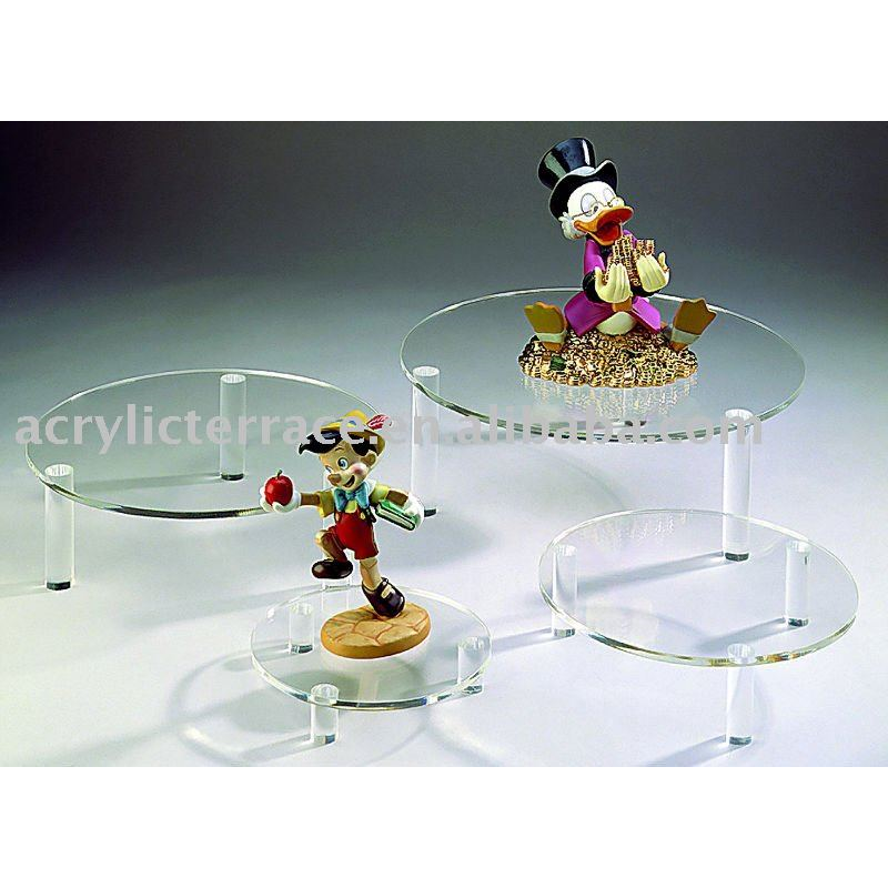 Counter Top Acrylic Shoe Display Riser C0201016