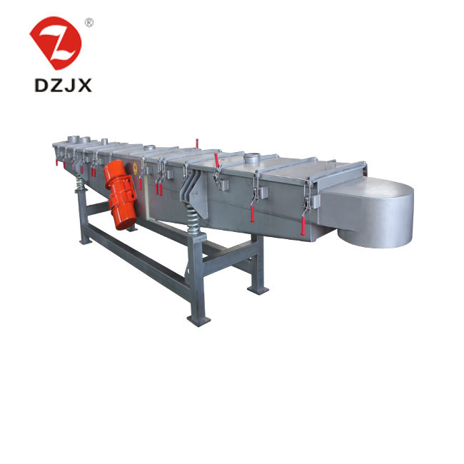 cooling vibratory conveyor machine for sugar production line