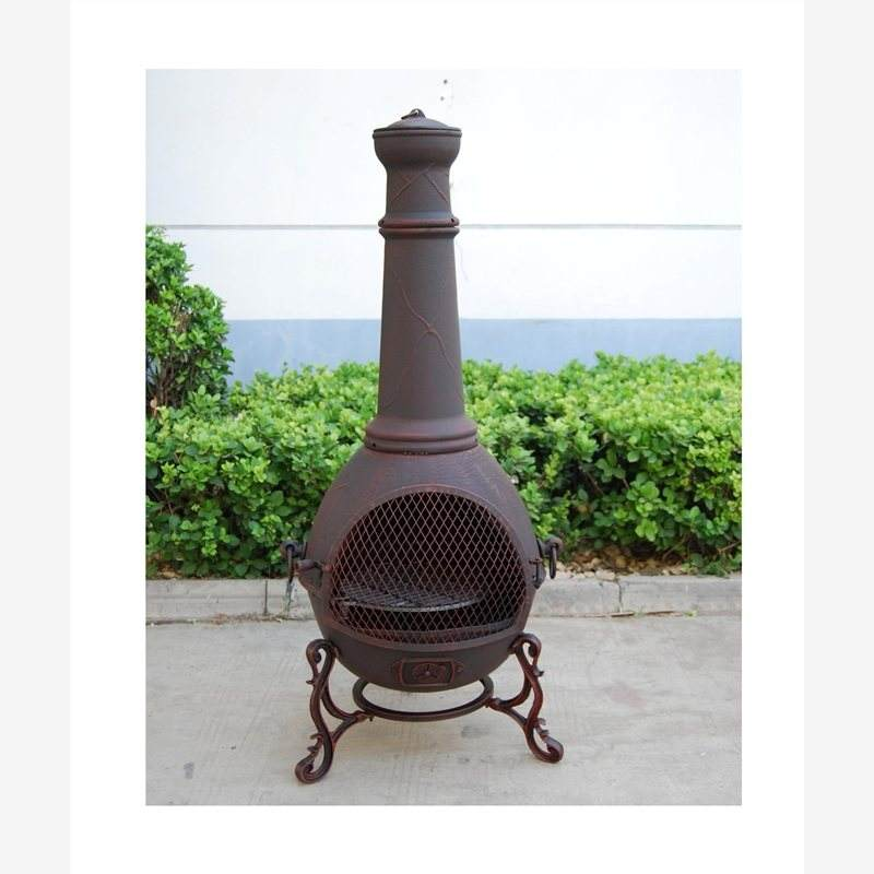 सस्ते कास्ट आयरन patio <span class=keywords><strong>chiminea</strong></span>