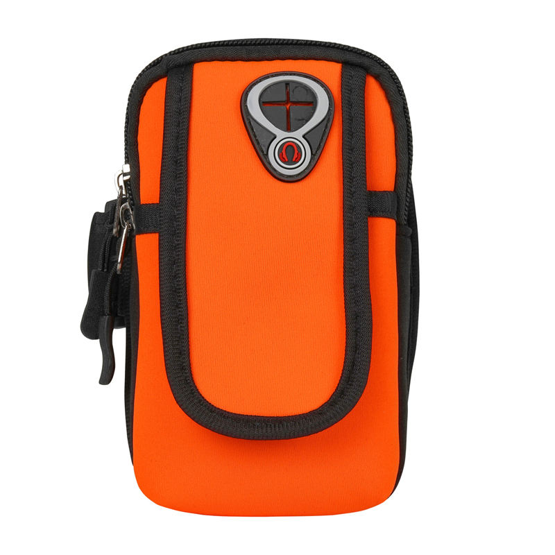 High Quality Waterproof Fabric Sport Armband Running sports band pouch mobile phone arm bag