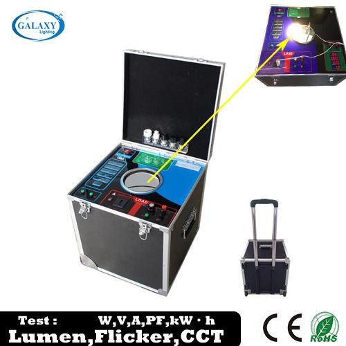 2018 modelo profesional LED lumen equipo de prueba con lumen, factor de potencia, temperatura de color prueba