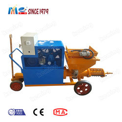Automatic Wall Rendering Mortar Plastering Machine