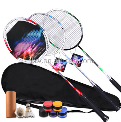 OEM Badminton Racket Wholesale Iron Alloy Racket
