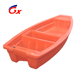 Rotomolding plastic 2.3M small river fishing pontoon boats for sale