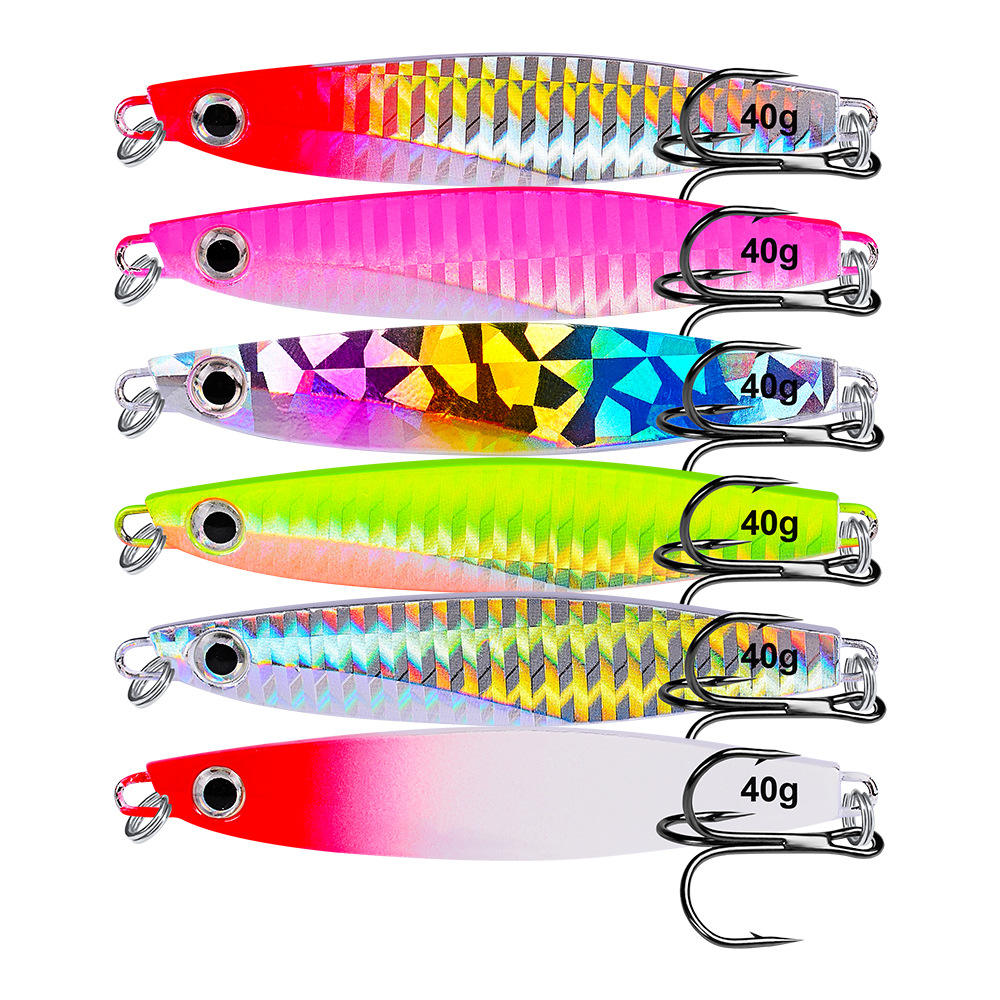 VIB Fishing 7グラム10グラム14グラム17グラム21グラム30グラム40グラムLight Lures Metal Jig Spoon For Fishing Octopus Jigging Lure Hard Ice Bait Shad