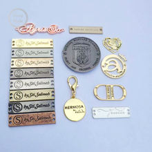 Metal Logo Label for Bags Leather Handbags Good Quality Metal Accessories