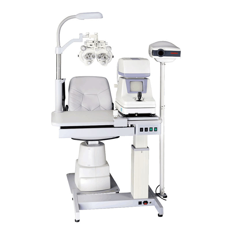 Hot Sale Most Economic and cheapest Chair combined table and chair C-180A ophthalmic unit
