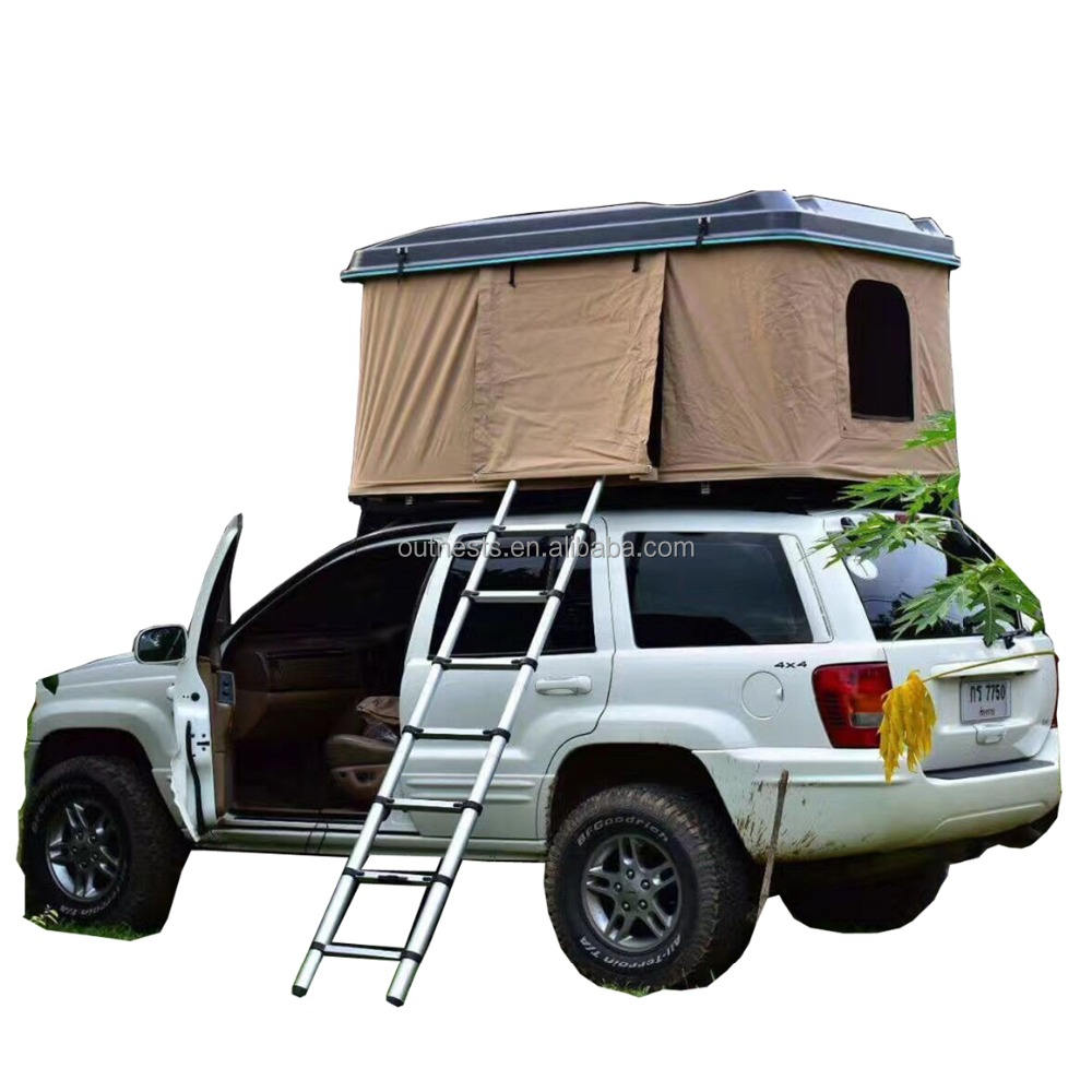 ABS Shell Hard Shell Car Roof Top Tent Camping Product