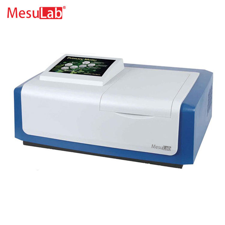 Used in food hygiene Double beam uv visible spectromete