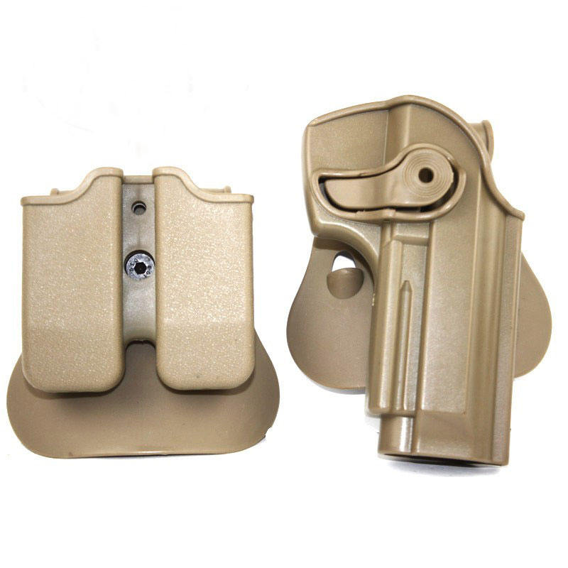 IMI Beretta M92 Pistol Tactical Gun Holster With Magazine Pouch