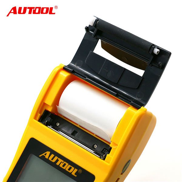 Free shipping wholesale factory price With Built-in printer BT-660 AUTOOL 12V/24V vehicle/auto car battery tester analyzer