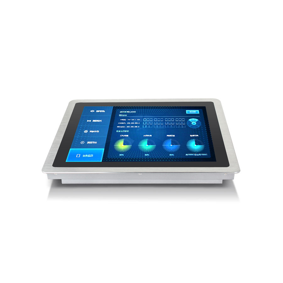 8 inch mini pc 와 serial parallel port 산업 tablet PC flat touch screen panel i7 desktop computer all in on
