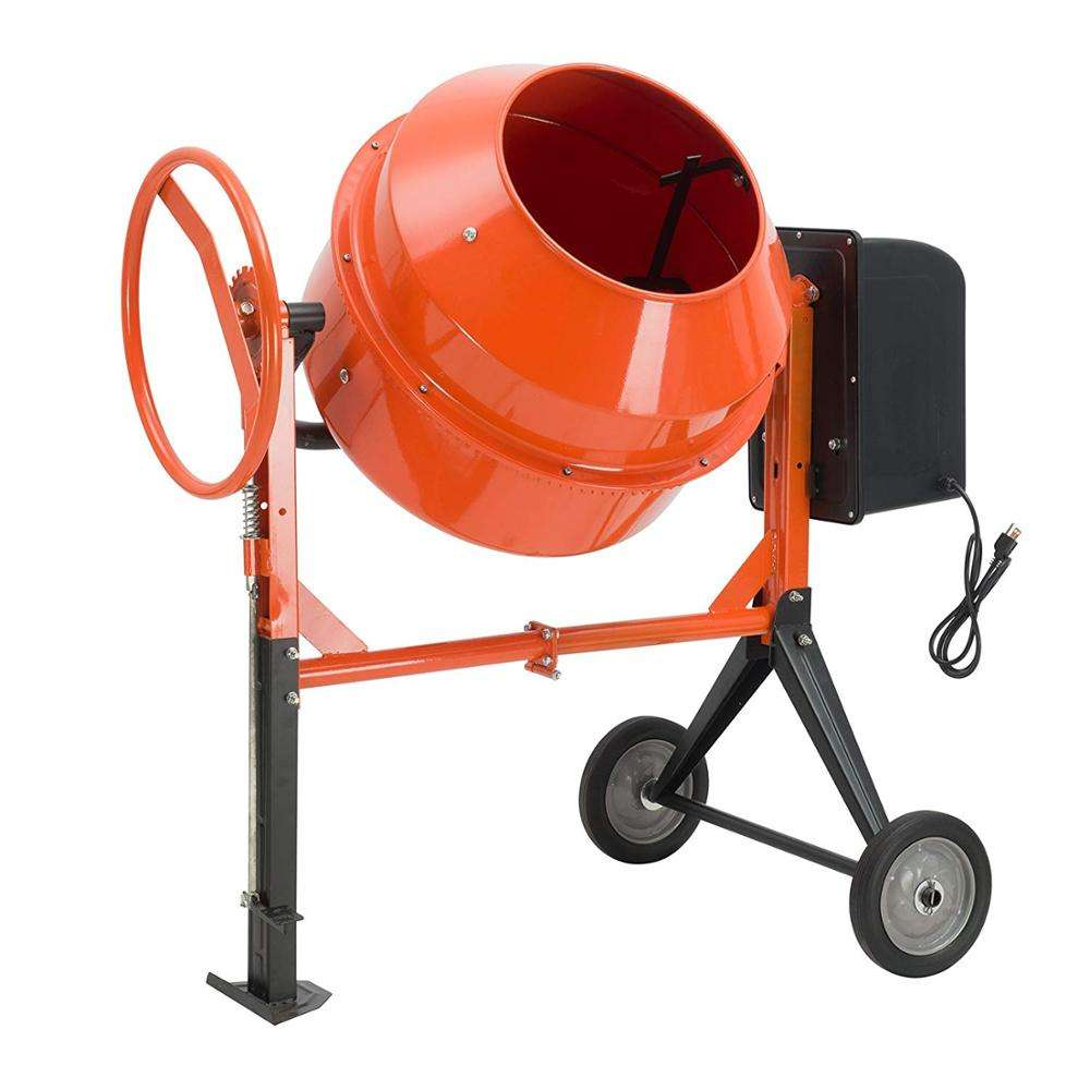 130L Small size electric powered concrete mixer machine