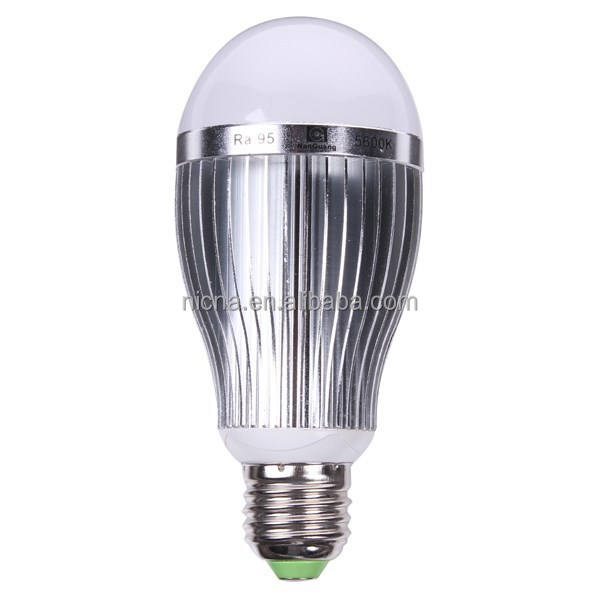 NEW 10W E27 Energy Saving LED Light Bulb Lamp 5600K For Studio Photo Photography
