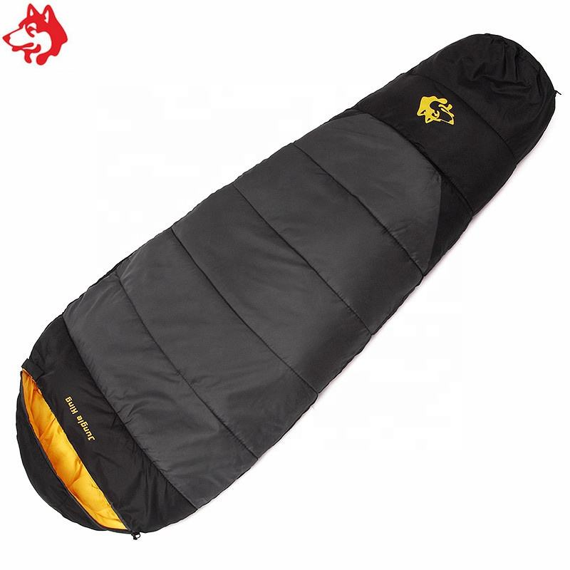 New Arrival Winter Cold Weather Pitching Sleeping Bag Grey/Orange/Blue Outdoor Waterproof Portable Hiking Camping Sleeping Bag