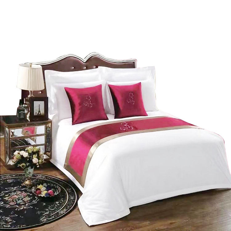 China Wholesale High Density 400TC New Design White Like Egyptian Combed Cotton Bed Linen Duvet Cover Sets