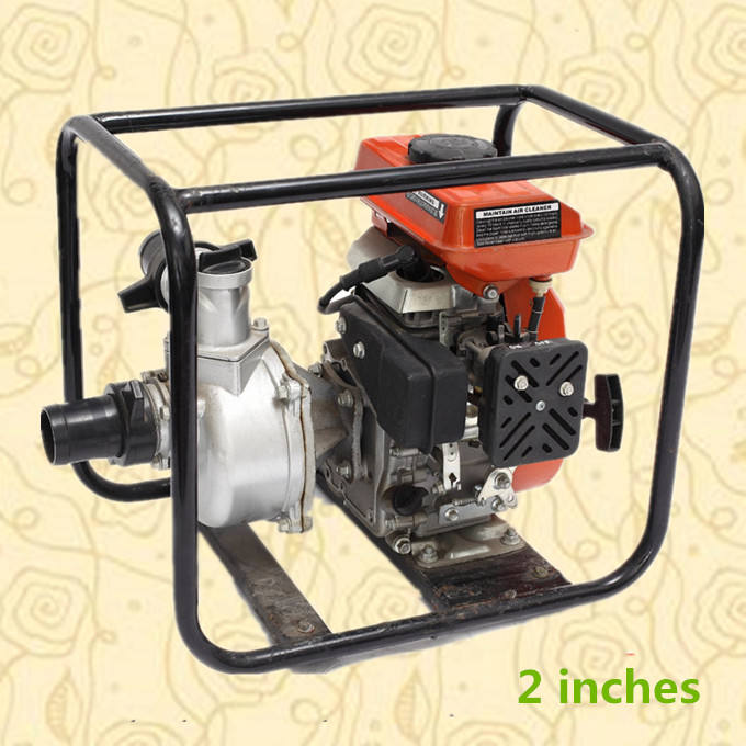 Heavy duty professional garden tools gas water pump on sale