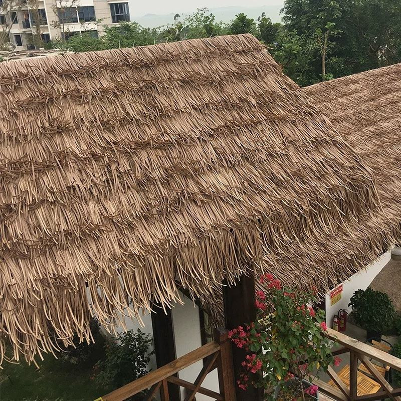 High quality synthetic thatch reed roof