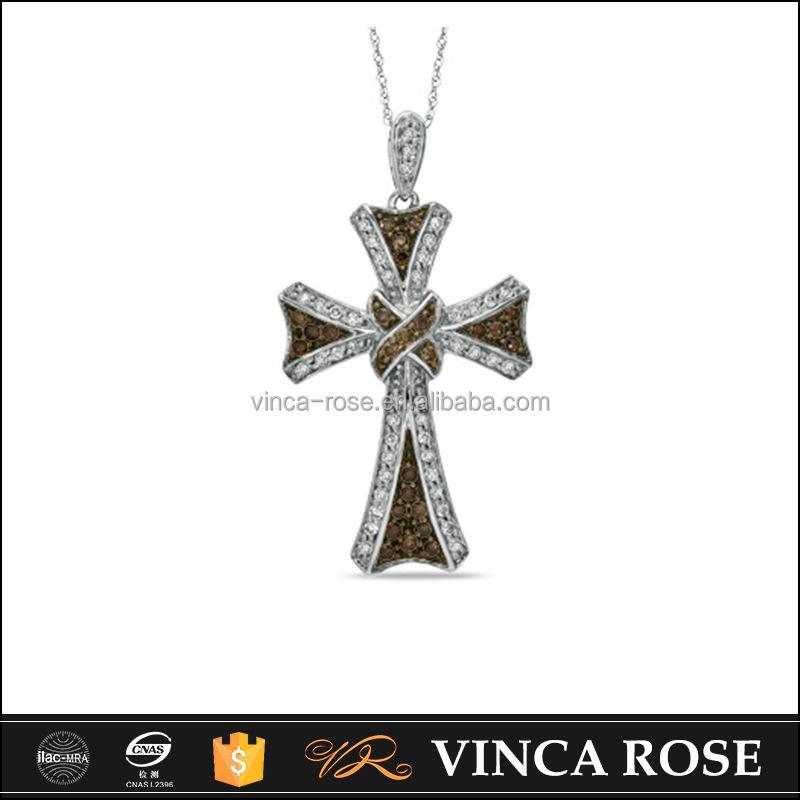 Precio de fábrica de alta calidad de la manera 925 de plata esterlina colgante cruz celta