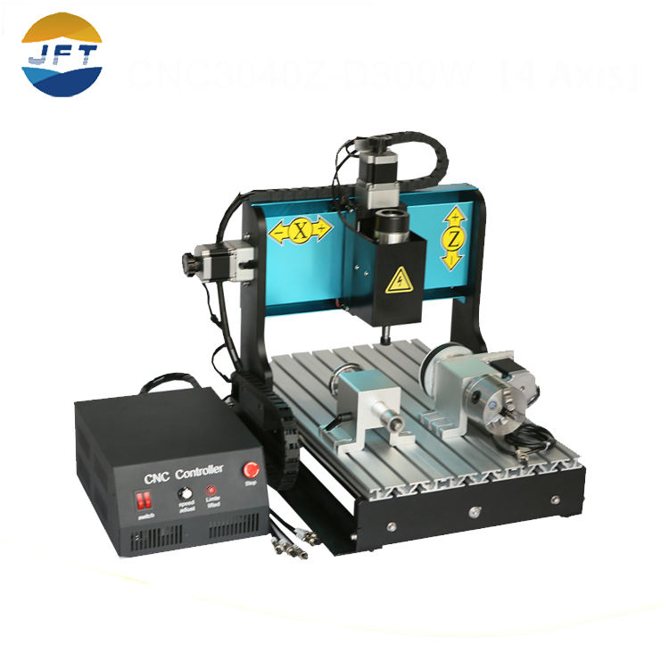 Pecision cnc3040 4 ejes aire refrigeración 300 W puerto paralelo 3D CNC madera talla máquina