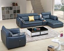Wholesale Custom Good Quality Modern Stanley Leather Sofa Set