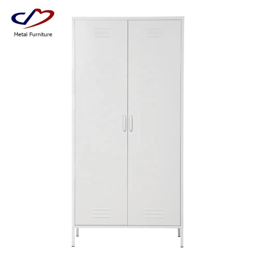 bedroom furniture 2 door wardrobe