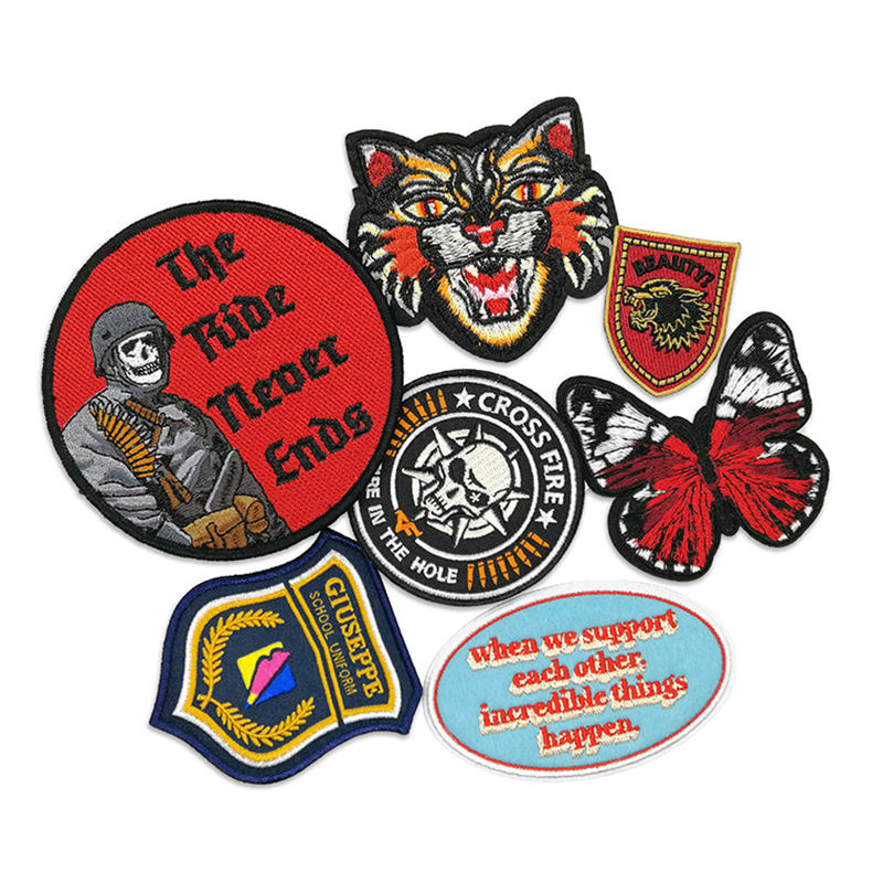 Womens Classic Retro Harrington Biker Jacket MA1 Army Badges Vintage Bomber Coat