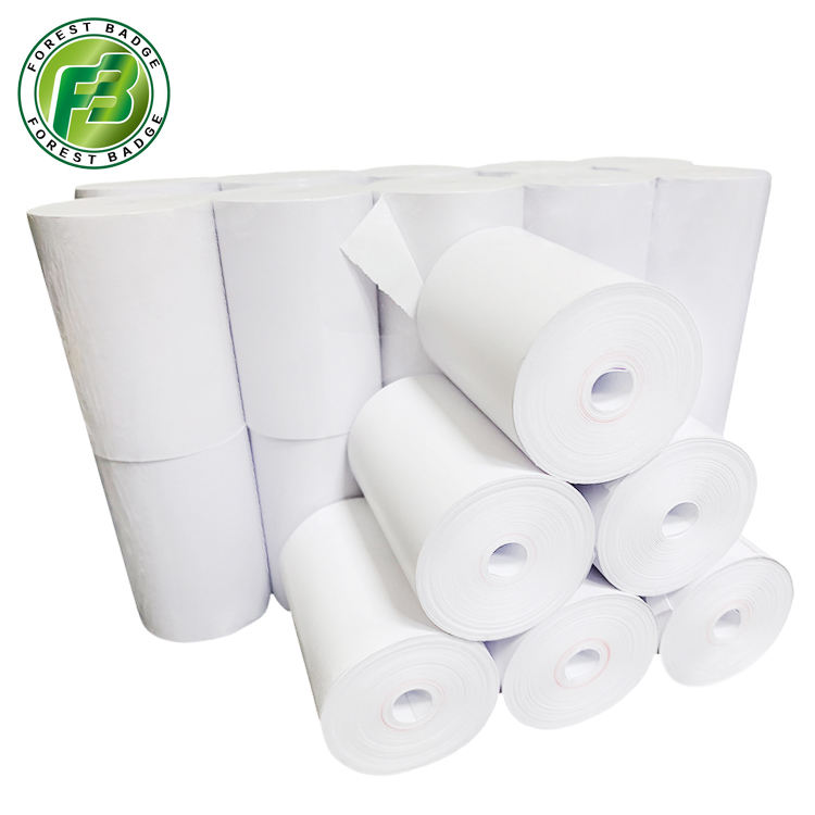 jintian shipping Coreless 57mm x 30mm thermal paper rolls