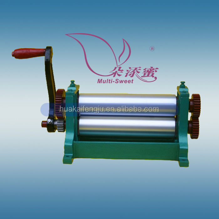 Manual Beeswax Foundation Embossing Machine