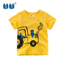 Guangdong manufacturer wholesale summer cheap price cotton toddler tshirt for kids