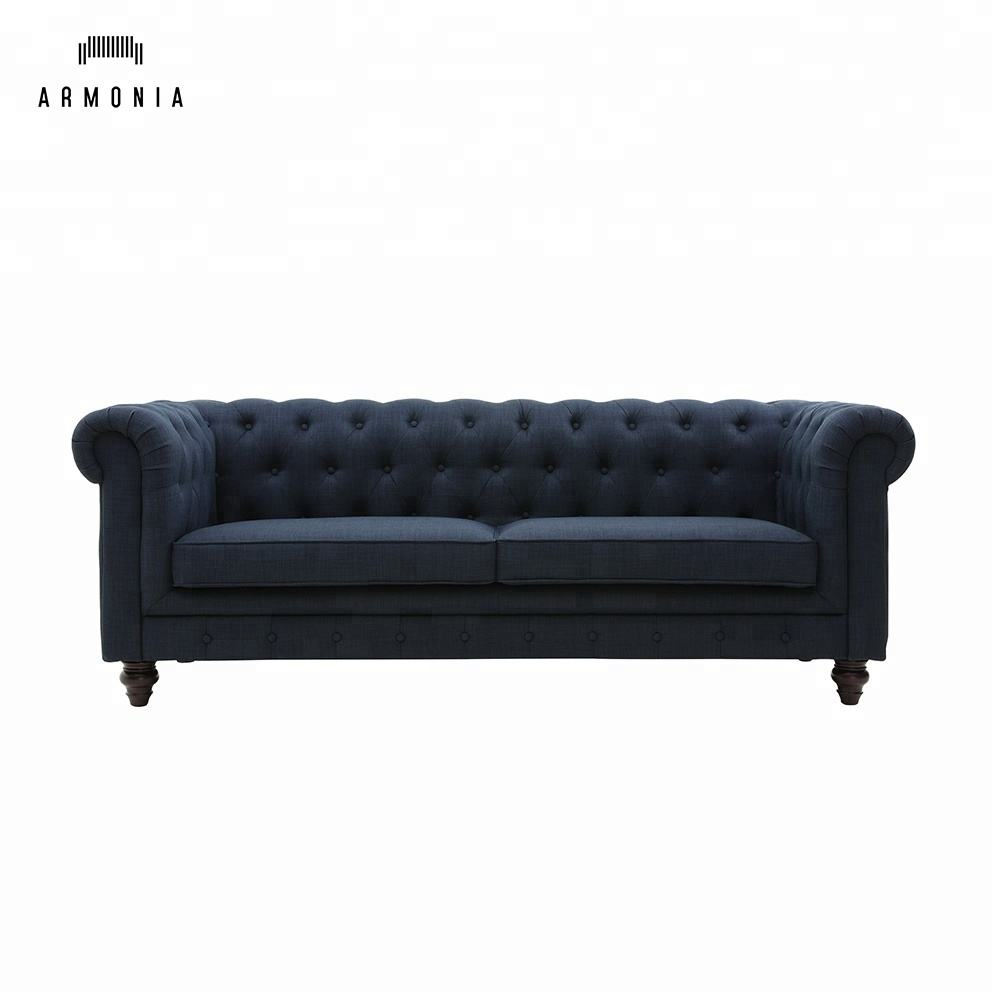 2020 Popular Design Classic Fabric Lounge Chesterfield Sofa