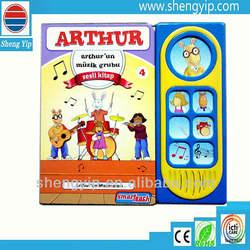 hardcover book,board books children,electronic sound button