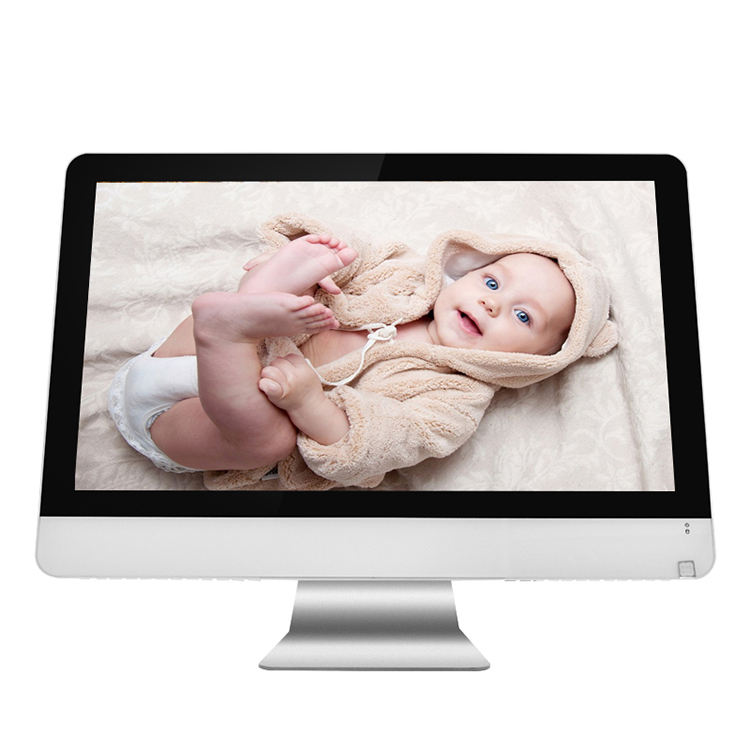 fashion style 1920*1080 and 23.6 inch led srean all in one pc