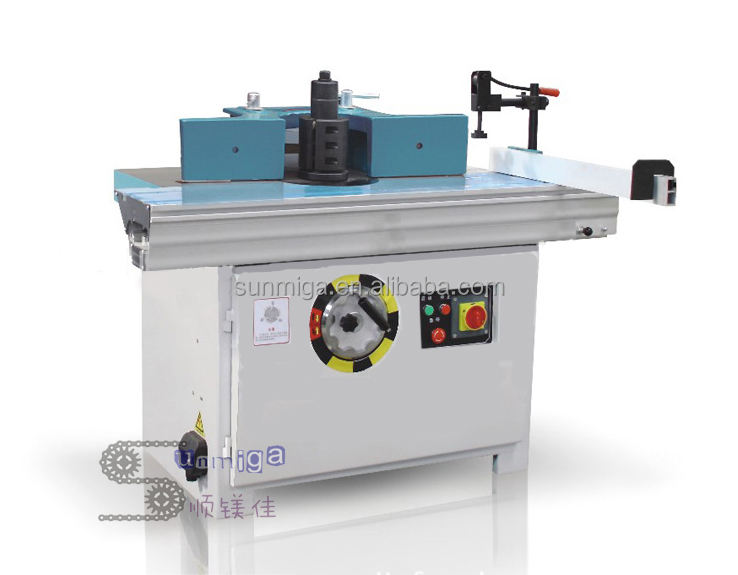 Woodworking spindle shaper machine