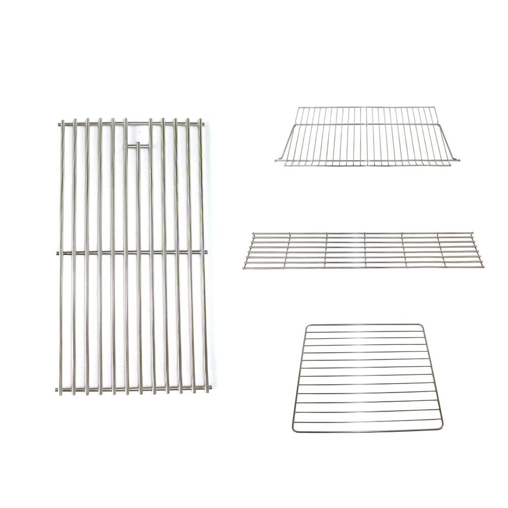 Factory custom make stainless steel bbq oven parts toast wire warming rack