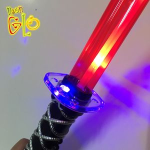 Flashing Light Up LED Ninja Sword Toy with Sound for Kids Play