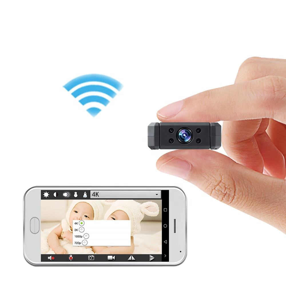Beste Kopen APP Remote View Mini Wifi Camera Home Live Nanny Cam
