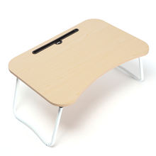 2019 fashion wooden portable computer table folding laptop desk on bed sofa