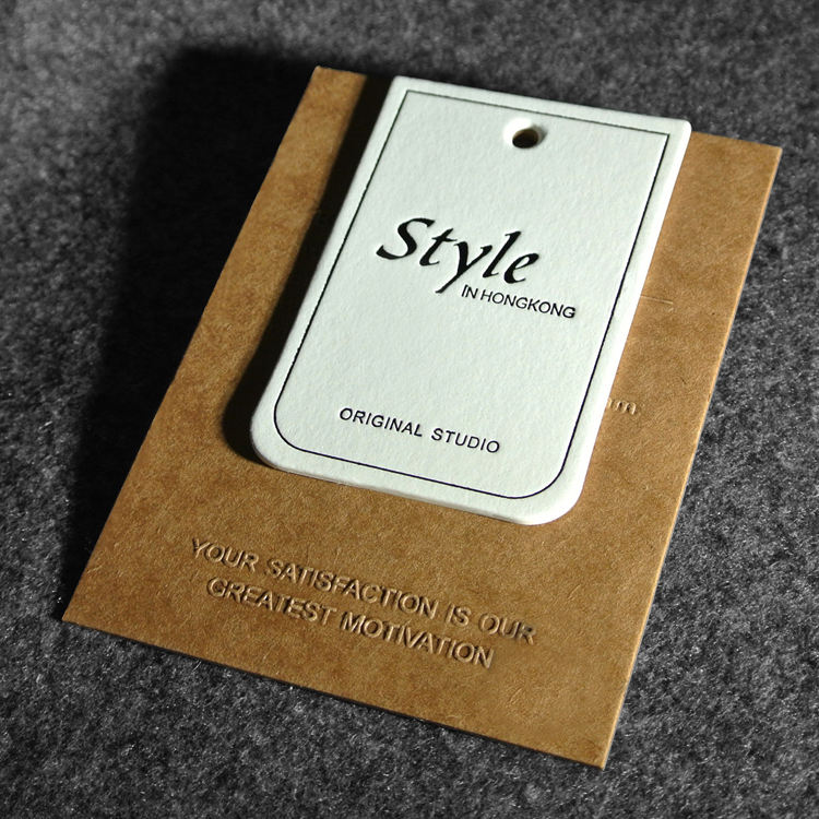 Recycle Copy Paper Hangtags for Clothing,Bedding, Shoes,Bags