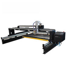 Aluminium zinc plate Gantry type sheet metal plasma cnc cutting machine in India for The subway accessories
