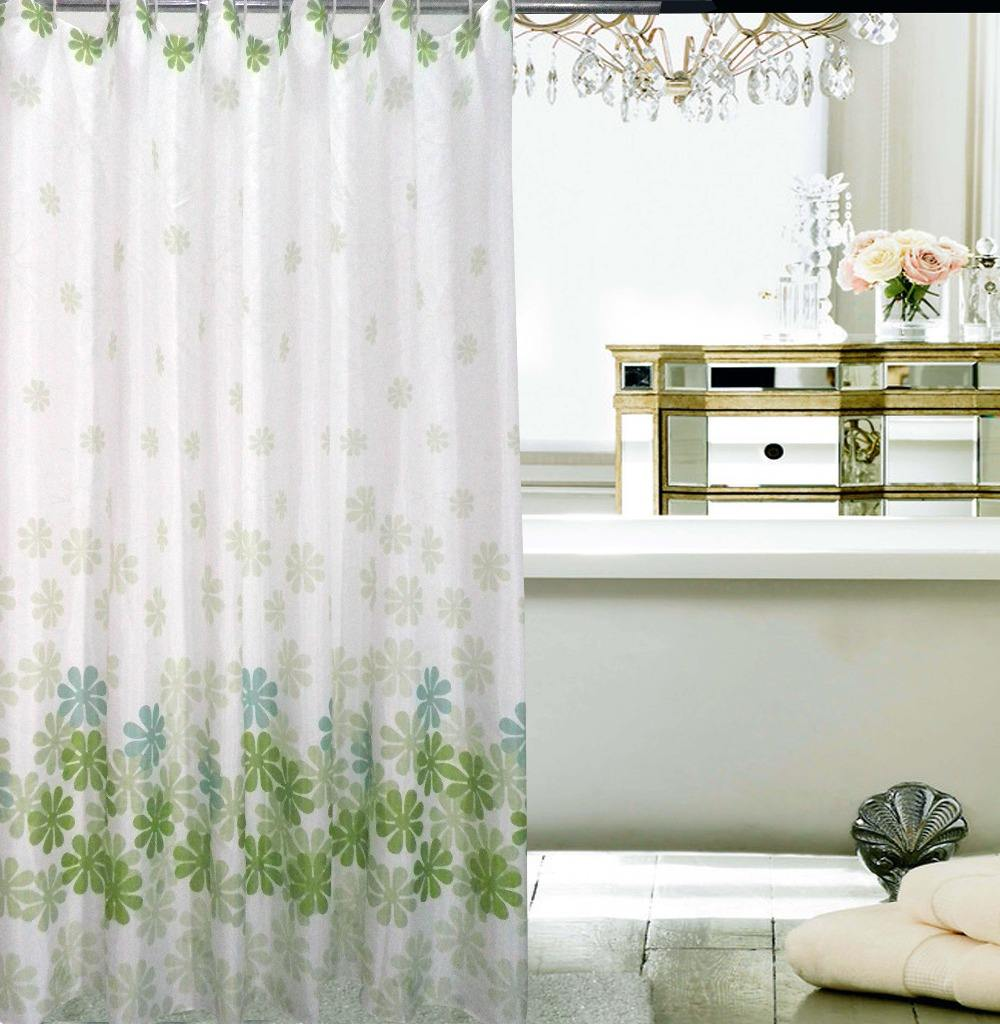 fancy ang fashion polyester shower curtain