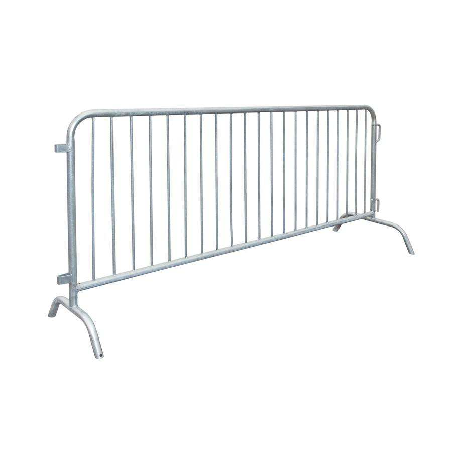 Alibaba factory popular galvanized security barrier/steel Road safety Barricade crowd control barrier