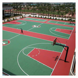 Acrylic Synthetic Sports Flooring Material Basketball Courts Flooring For Sale