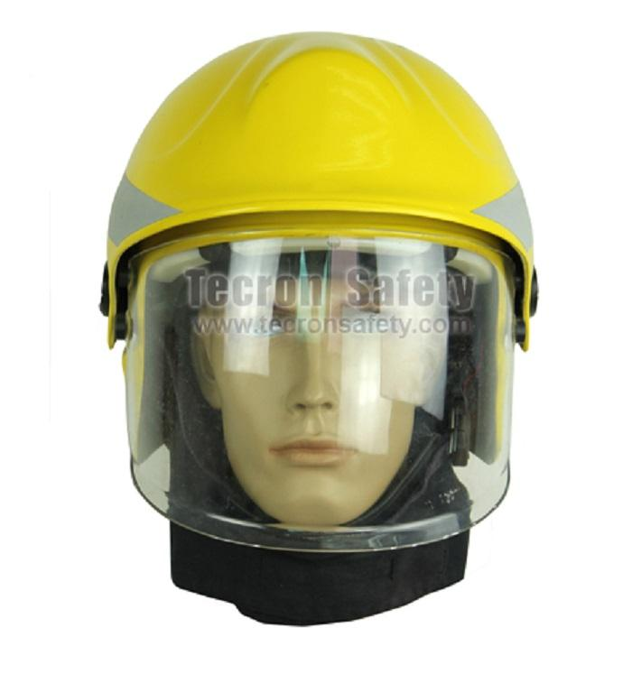 Tecron Safety Fire Fighter Helmet / Fire fighting Helmet / EN443 Helmet