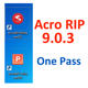 2019 Newest Free Download One Pass White Ink AcroRIP ver9.0.3 Acro RIP Software 9.0.3 Version For UV DTG Flatbed Printer